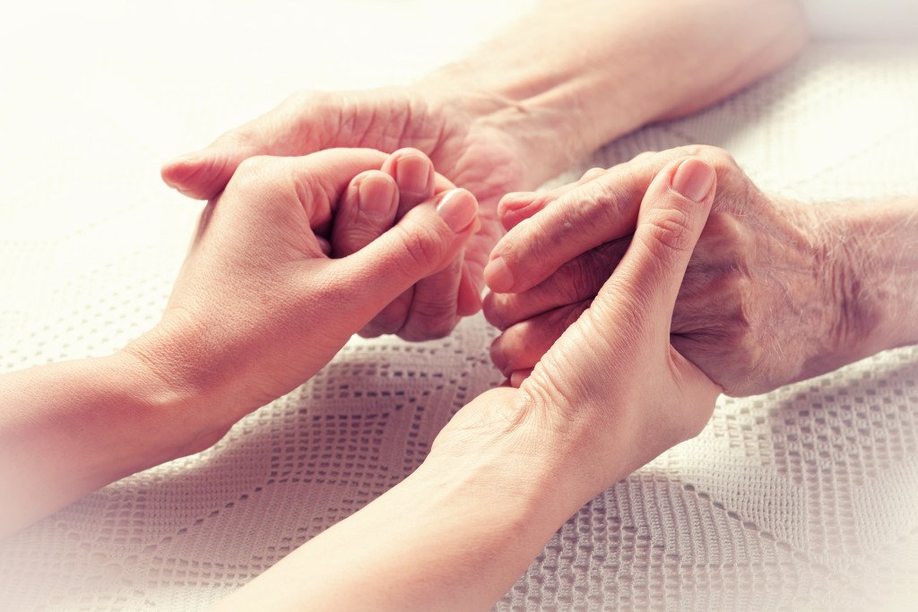 helping hands nursing services, elderly caregiver, senior care, home care